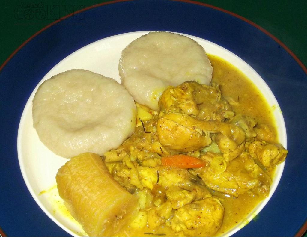 curried chicken and dumpling II