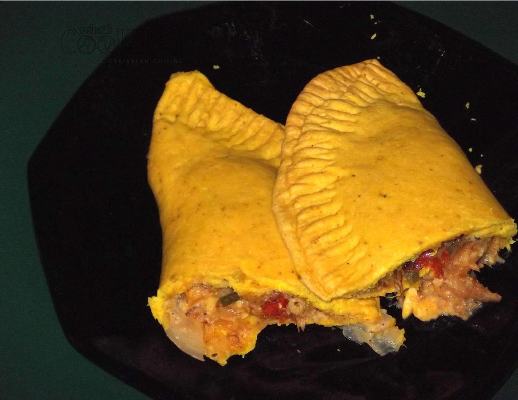 Ackee and saltfish patty II