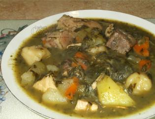 bowl of pepperpot soup