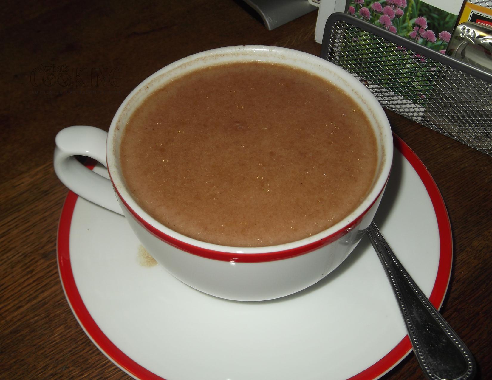chocolate tea II – Sian's Cooking