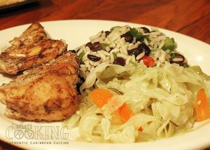 Jerk chicken dinner II