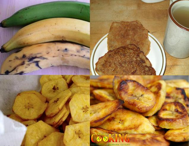 plantain collage