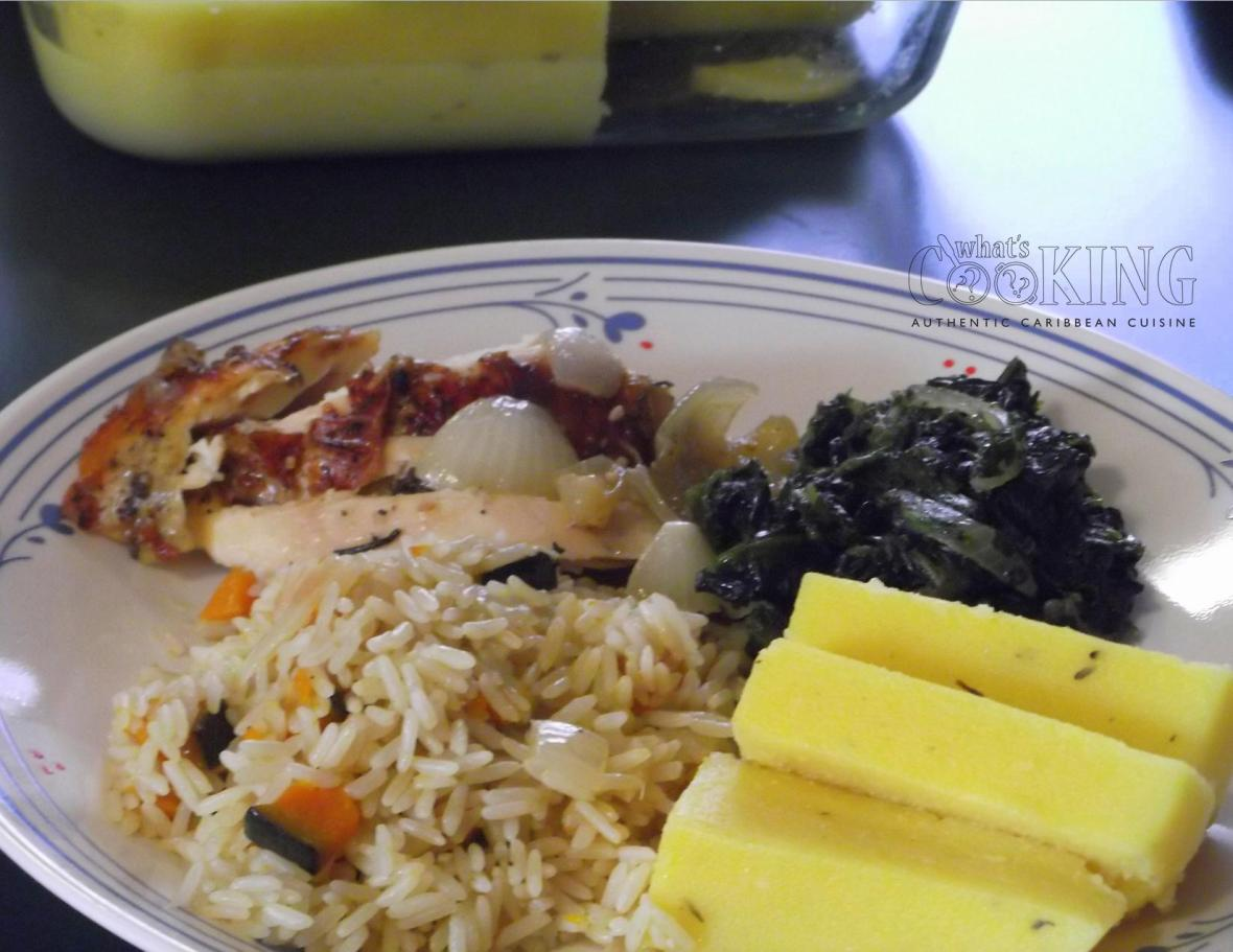 Roast Chicken dinner II