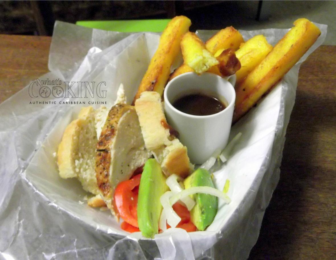 Sandwich and fries II