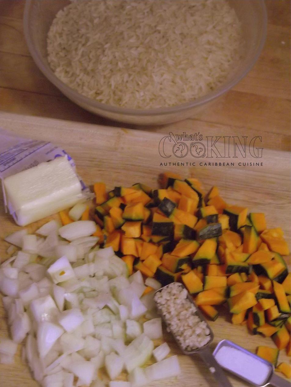 pumpkin rice seasoning II