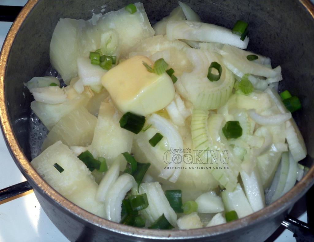 yuca con cebolla II