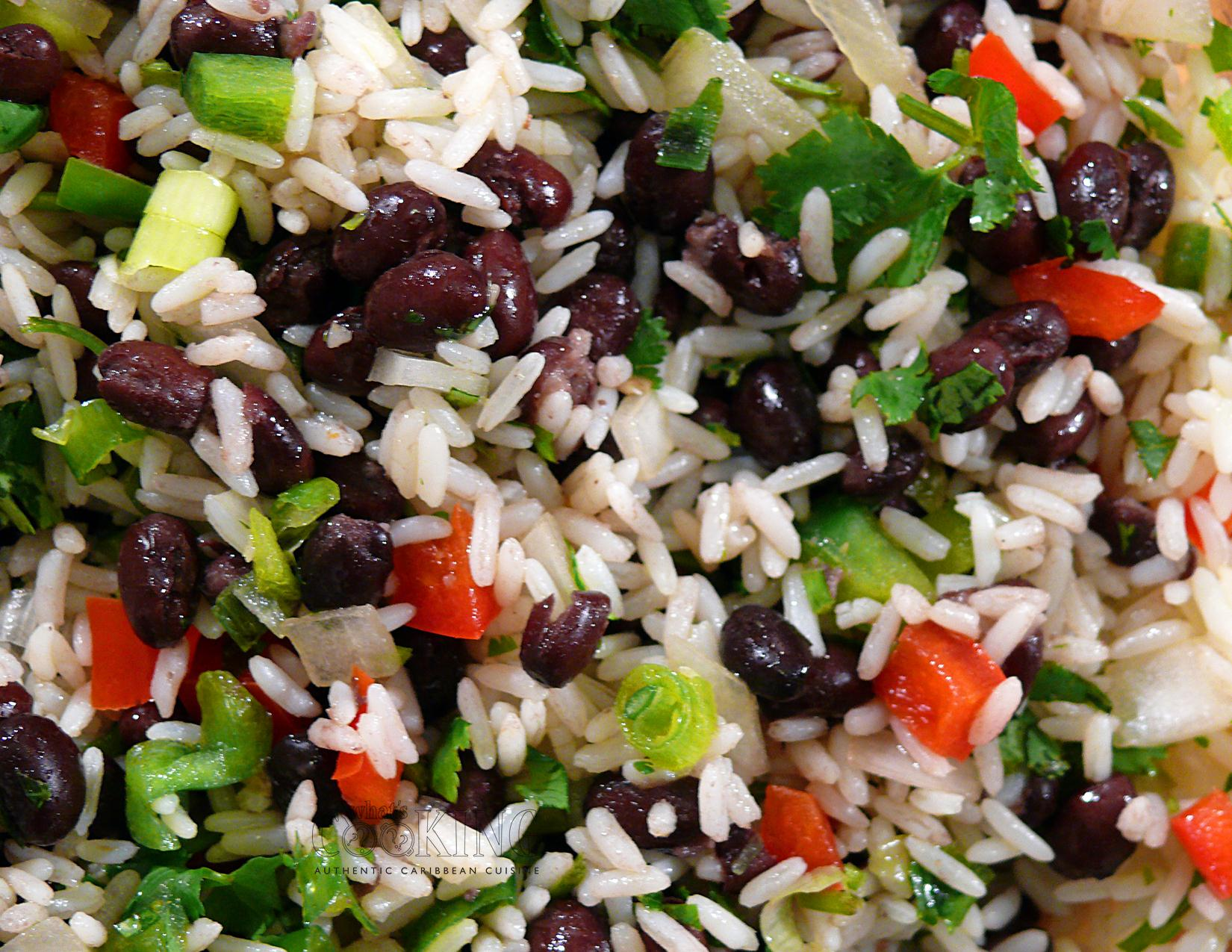 rice and black bean salad 2