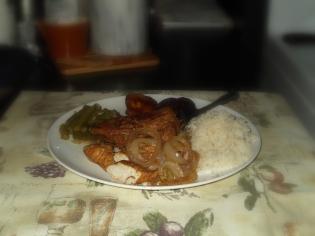 Pollo con cebolla II