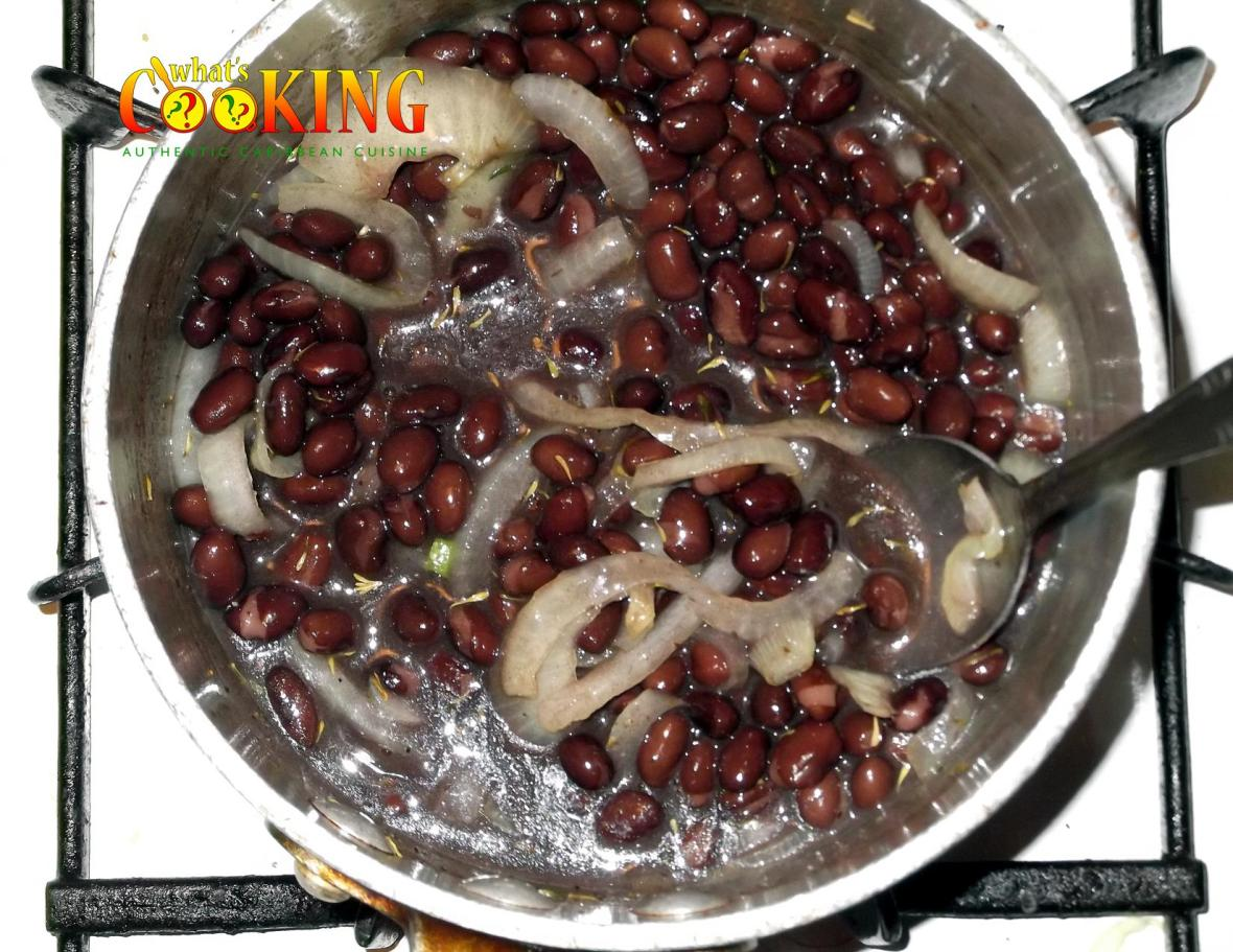 cooking black beans and rice