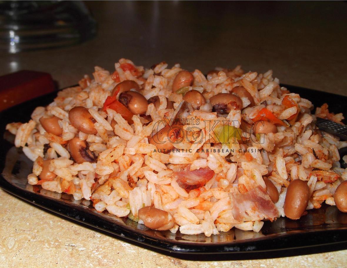 Bahamian Rice & Peas