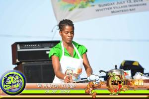 sian rose, sians cooking, shrimp fest 2014, jamaica